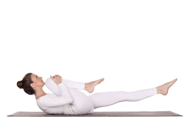 single leg stretch pilates