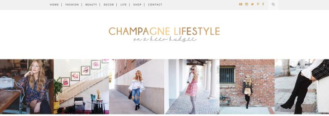 Champagne Lifestyle blog de moda low cost