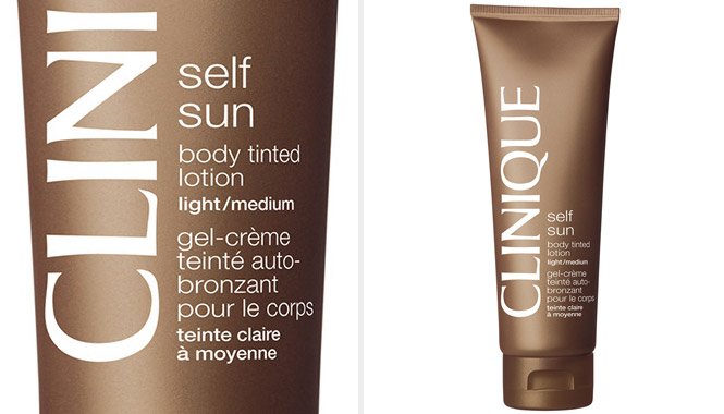 Autobronceador corporal Efecto Inmediato Light/Medium Self Sun de Clinique