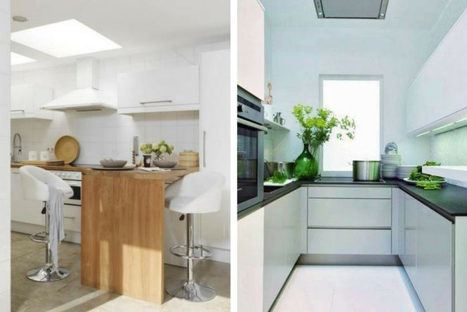 7 ideas para decorar cocinas modernas y peque as ellas for Iluminacion de cocinas modernas
