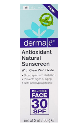 Derma e Antioxidant Natural Sunscreen