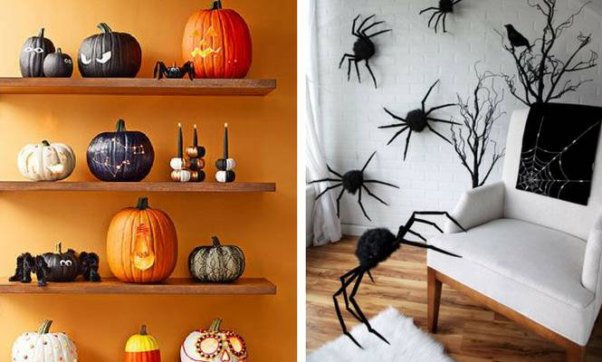 Animales falsos Halloween