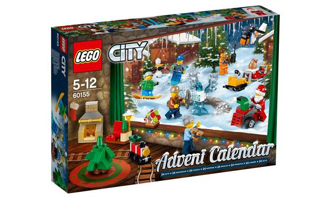 Calendario de Adviento Lego