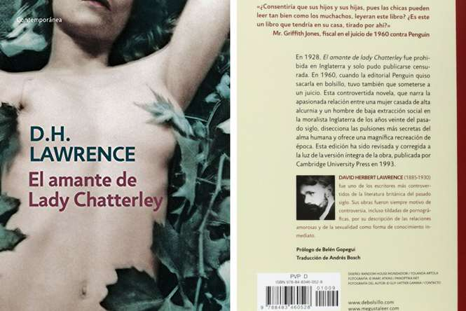 El amante de Lady Chatterley, David H. Lawrence