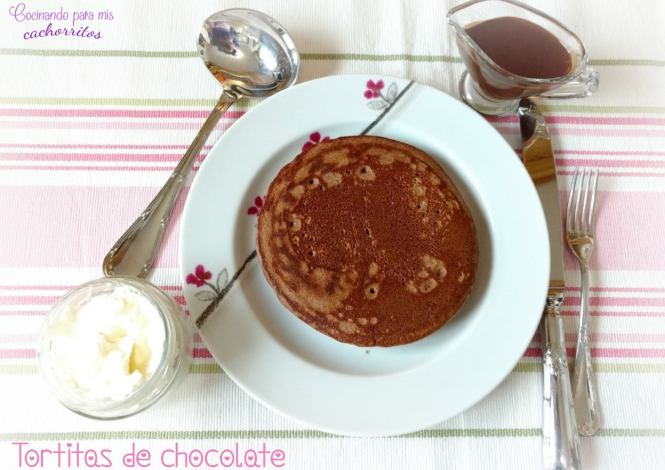 tortitas de chocolate thermomix