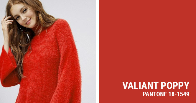 PANTONE 18-1549 - Valiant Poppy