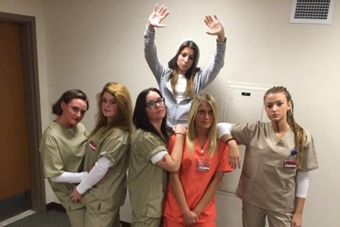 disfraz amigas orange is the new black