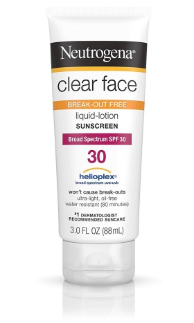 Clear Face SPF 30 de Neutrogena