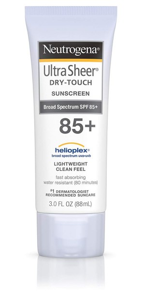 Ultra Sheer Dry-Touch Sunscreen de Neutrogena