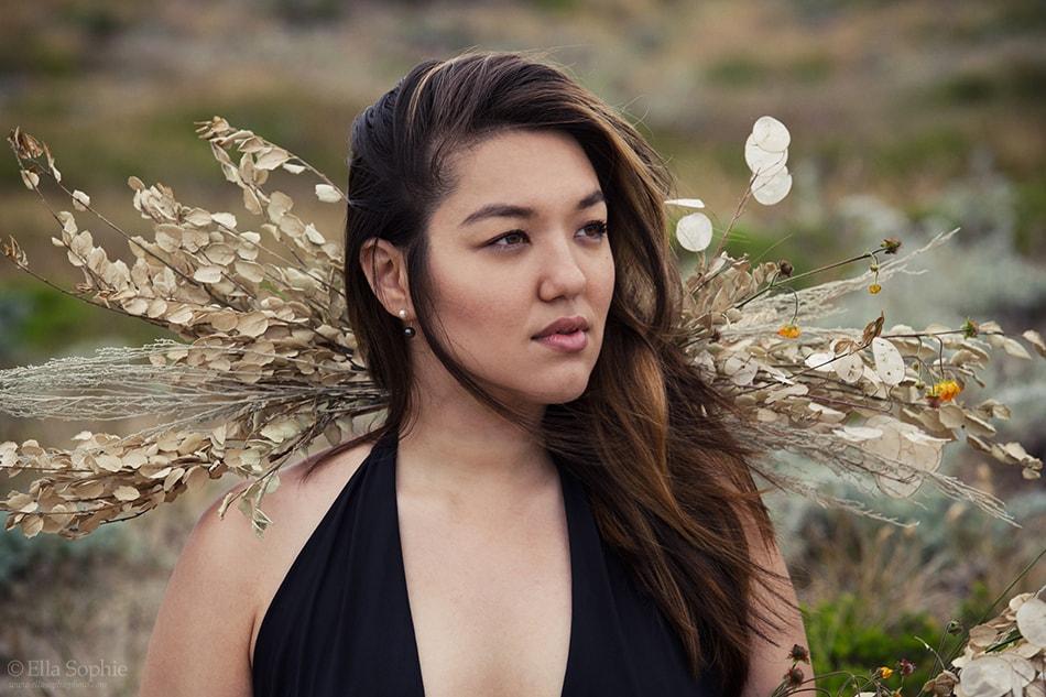 Natural beauty portrait, defiant confident woman. beyond boudoir Oakland Photographers Ella Sophie
