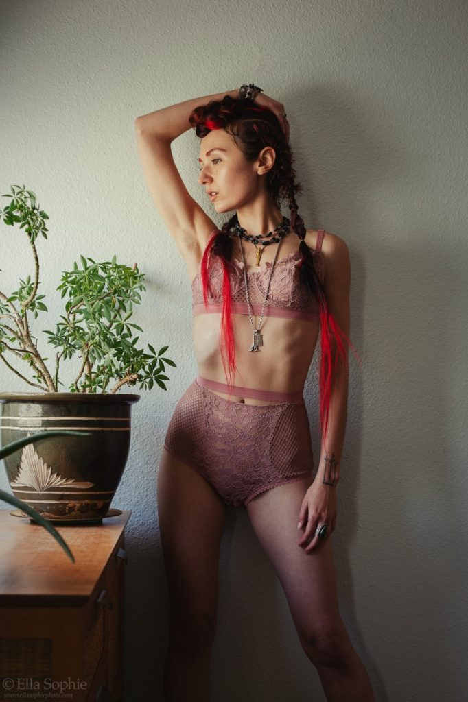 A conversation about body shaming with model Zoe West, by photographer Ella Sophie, Oakland CA