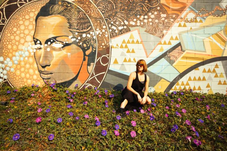 Oakland Street Portraits of Artist Vera Vinot by Photographer Ella Sophie