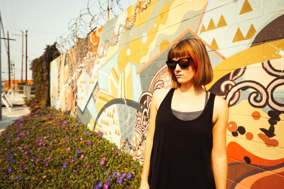 Ella Sophie Portrait photographer, orange glow natural light in Bay Area