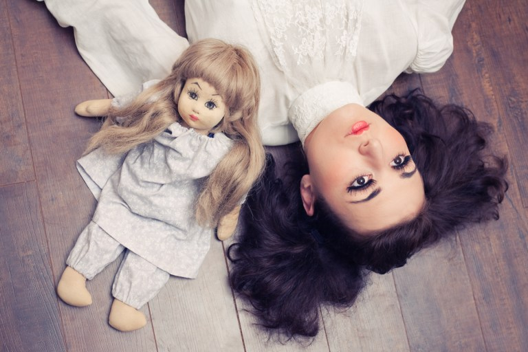 Model Zoe West poses for the Doll Collection. Photography by Ella Sophie.