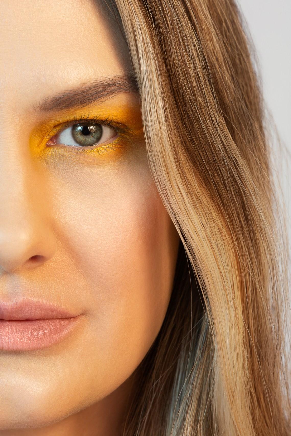 clean skin close up portrait by San Francisco beauty photographer Ella Sophie