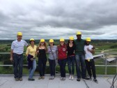 A majority of the Squad with our leader, Keith, on the roof of the feed mill.
