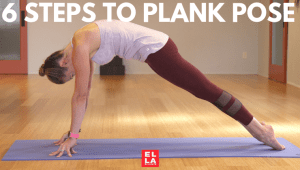 6 STEPS TO PLANK POSE