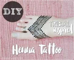 Tribal Inspired Henna
