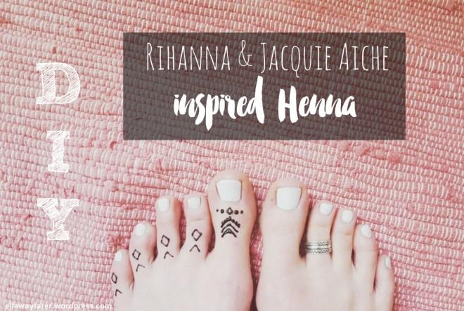 RIHANNA JACQUIE AICHE INSPIRED HENNA