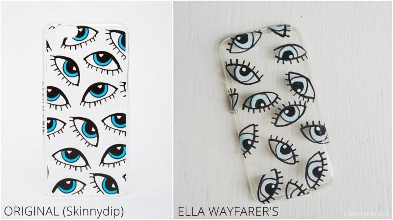 Evil Eye Phone Case DIY