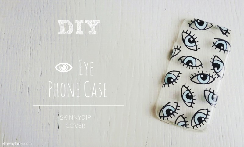 Evil Eye Phone Case DIY