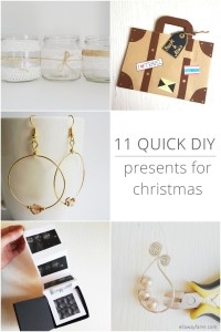 11 quick DIY presents for christmas