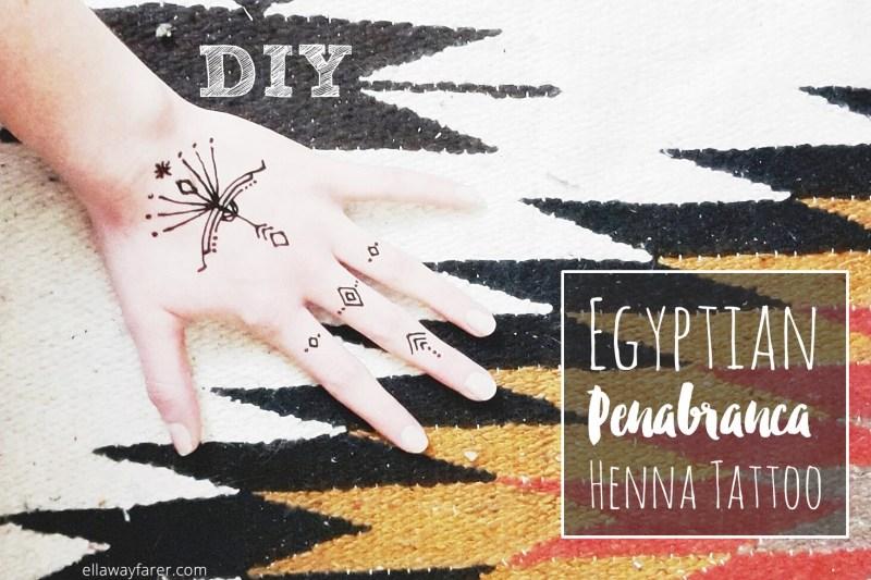 HENNA | Egyptian Penabranca Tattoo | ellawayfarer.com