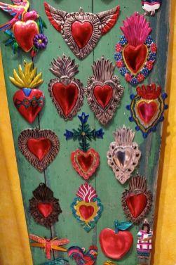 Kreuze Herzen Mexiko
