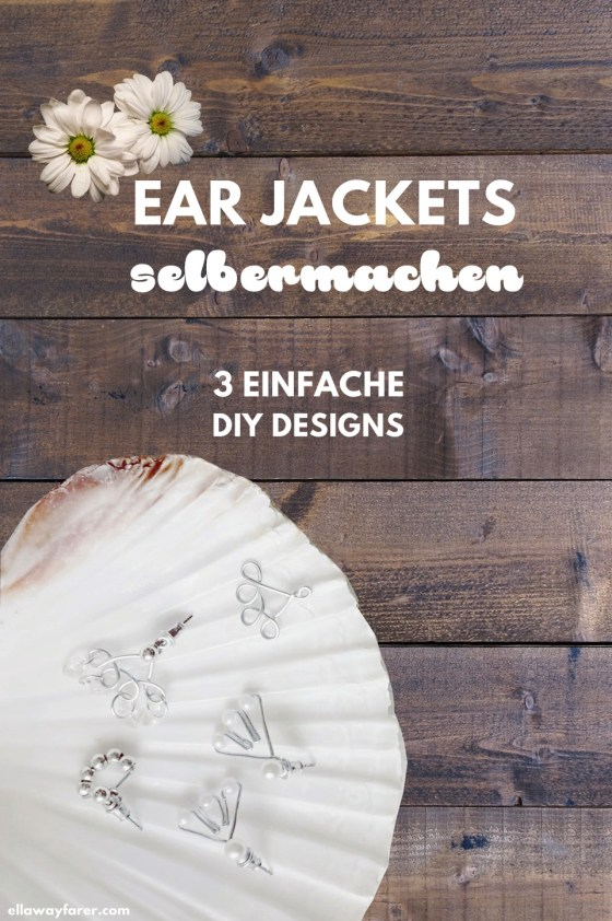 Ear Jackets selber machen | einfache Ohrstecker | DIY #earjackets #diyschmuck
