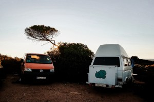 Living in a Van in Portugal: Praia do Carvalho