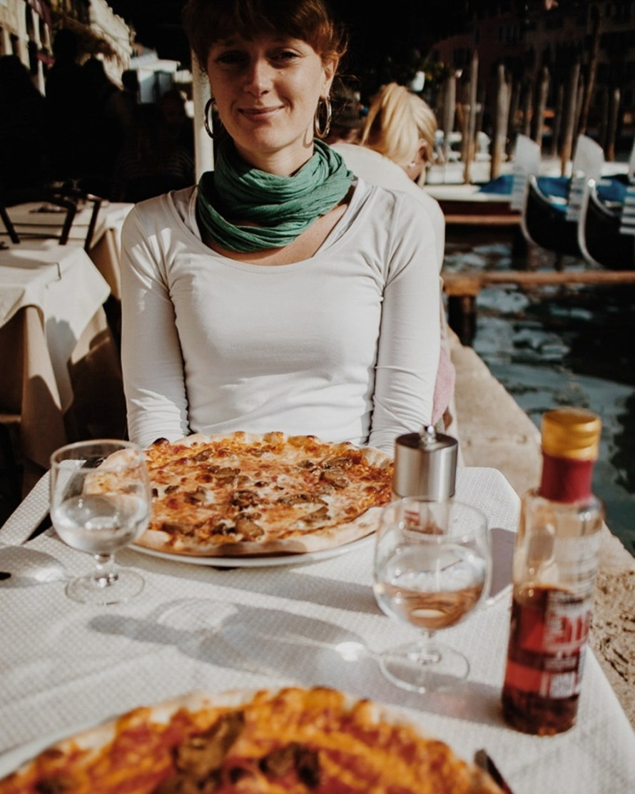 One day in Venice - A Photo Love Story with Pizza