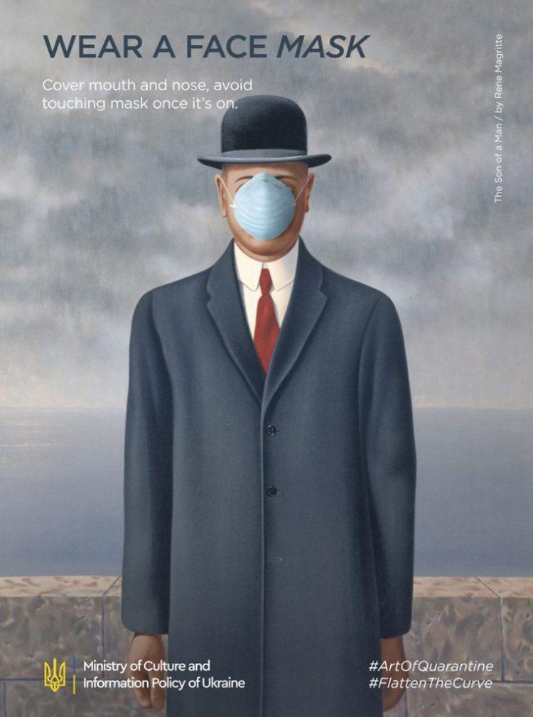 Rene Magritte, El hijo del hombre