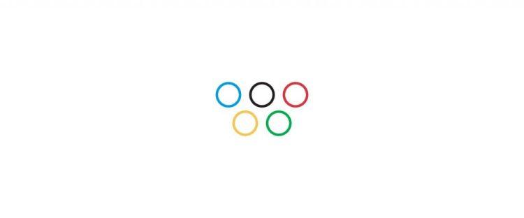 Logo de los Juegos Olímpicos durante el Coronavirus