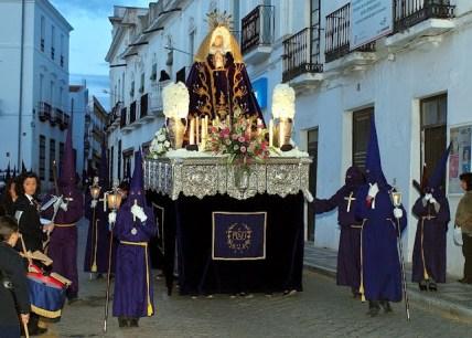 Procesión del Jueves Santo de la Semana Santa de Villafranca de los Barros