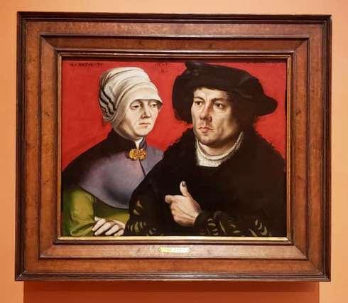 Retrato de un matrimonio  de Gabriel Zehender en el Thyssen