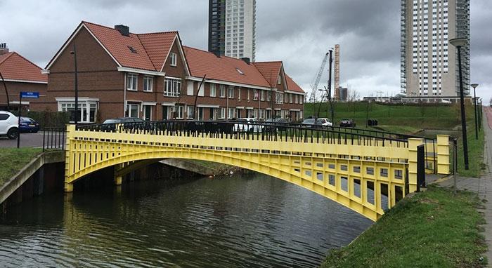 ¡Los puentes de los billetes de Euro se vuelven reales!