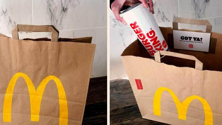 ¡INOCENTE! La épica broma de Burger King a sus clientes por el April Fool's