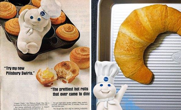 Pillsbury Doughboy Evolución de las mascotas corporativas