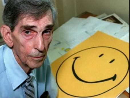 Harvey Ball creador de las caritas felices o smiley faces