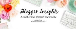 Blog, Blogger Insights
