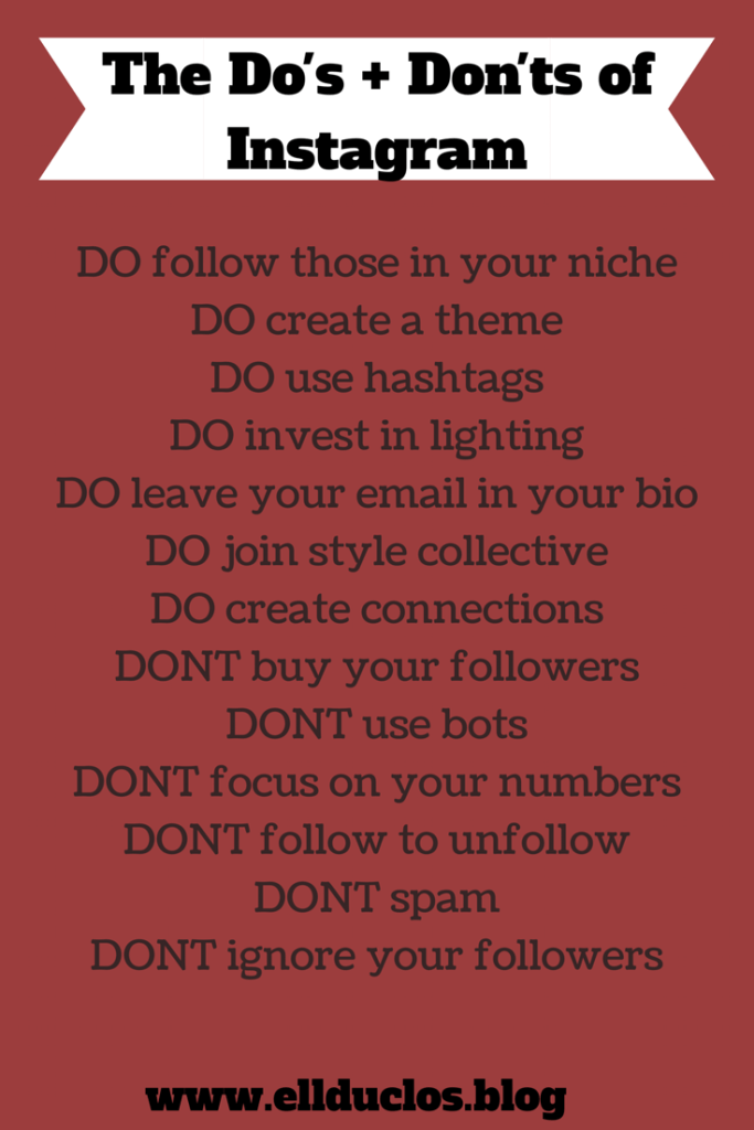 What You Should be doing on Instagram