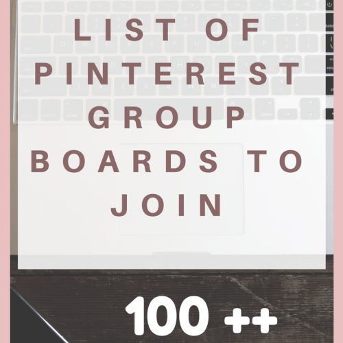 The Ultimate List of Pinterest Group Boards to Join