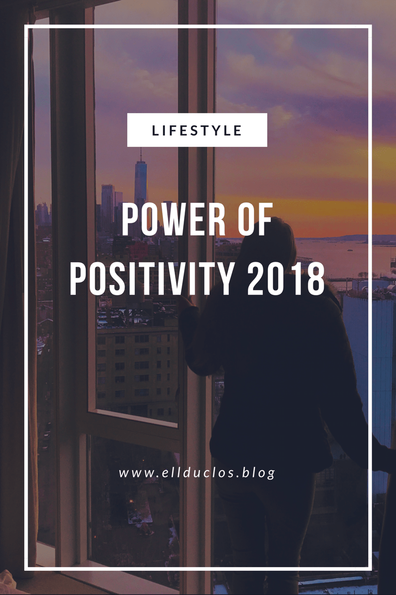 Power Of Positivity 2018 Campaign