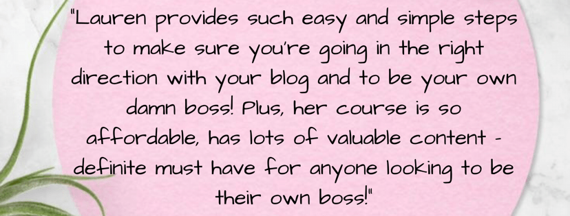 learn how to be your own damn boss review!