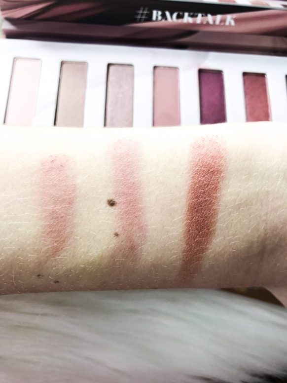 Back Talk Eyeshadow Palette Review. Makeup Reviews. Beauty Reviews.