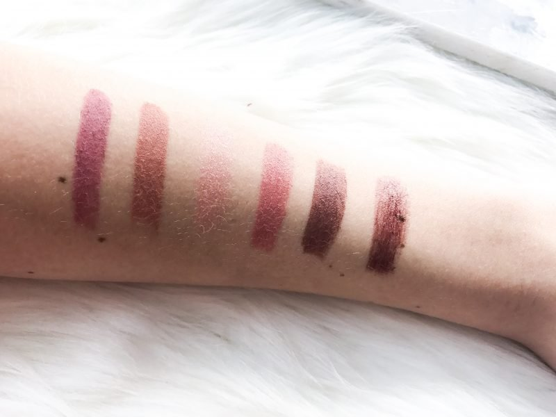 Urban Decay's Vice Lipstick swatches + reviews.