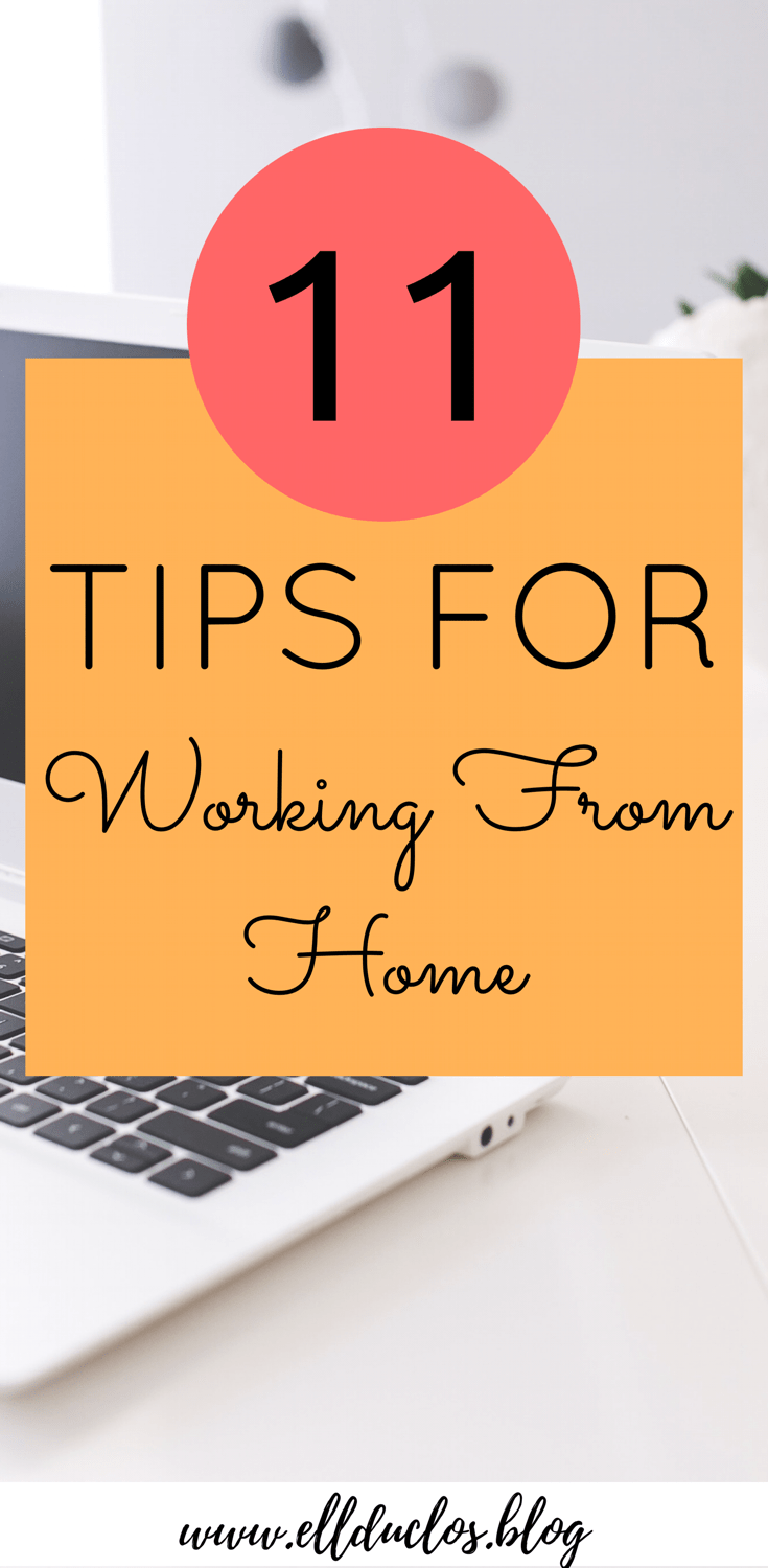 One of the biggest things I struggle with is staying focused and motivated when I work from home. Here are 11 tips I have for working from home.