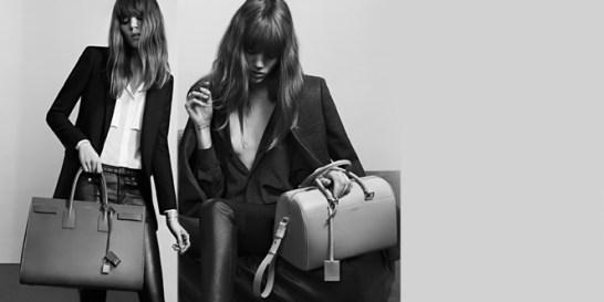 To rock attitude του οίκου Saint Laurent  Το brand παρουσιάζει την Permanent Collection με τα must-have ρούχα και αξεσουάρ της γυναικείας γκαρνταρόμπας.
