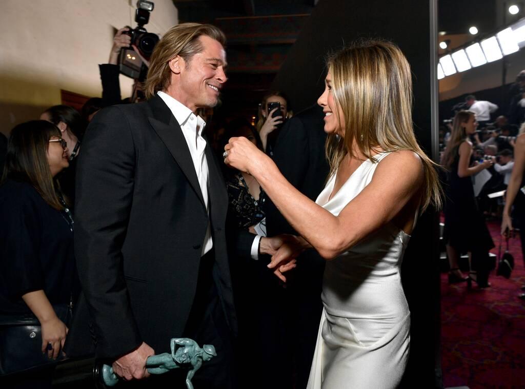 Brad Pitt & Jennifer Aniston: Reunion στο κόκκινο χαλί των SAG Awards