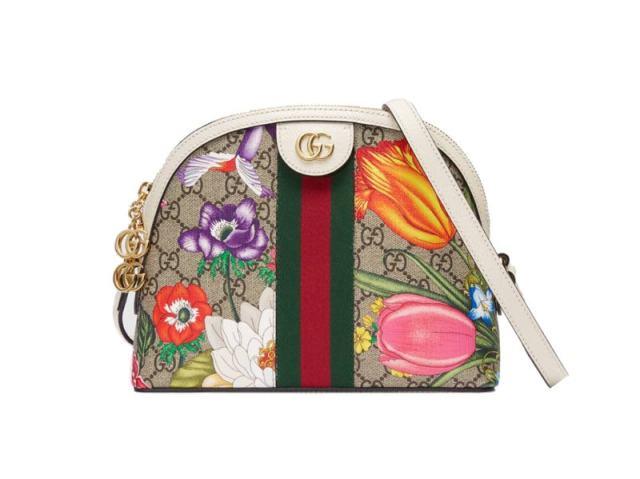 Τσάντα φλόραλ, Gucci.